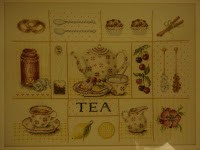Tea time embroidery