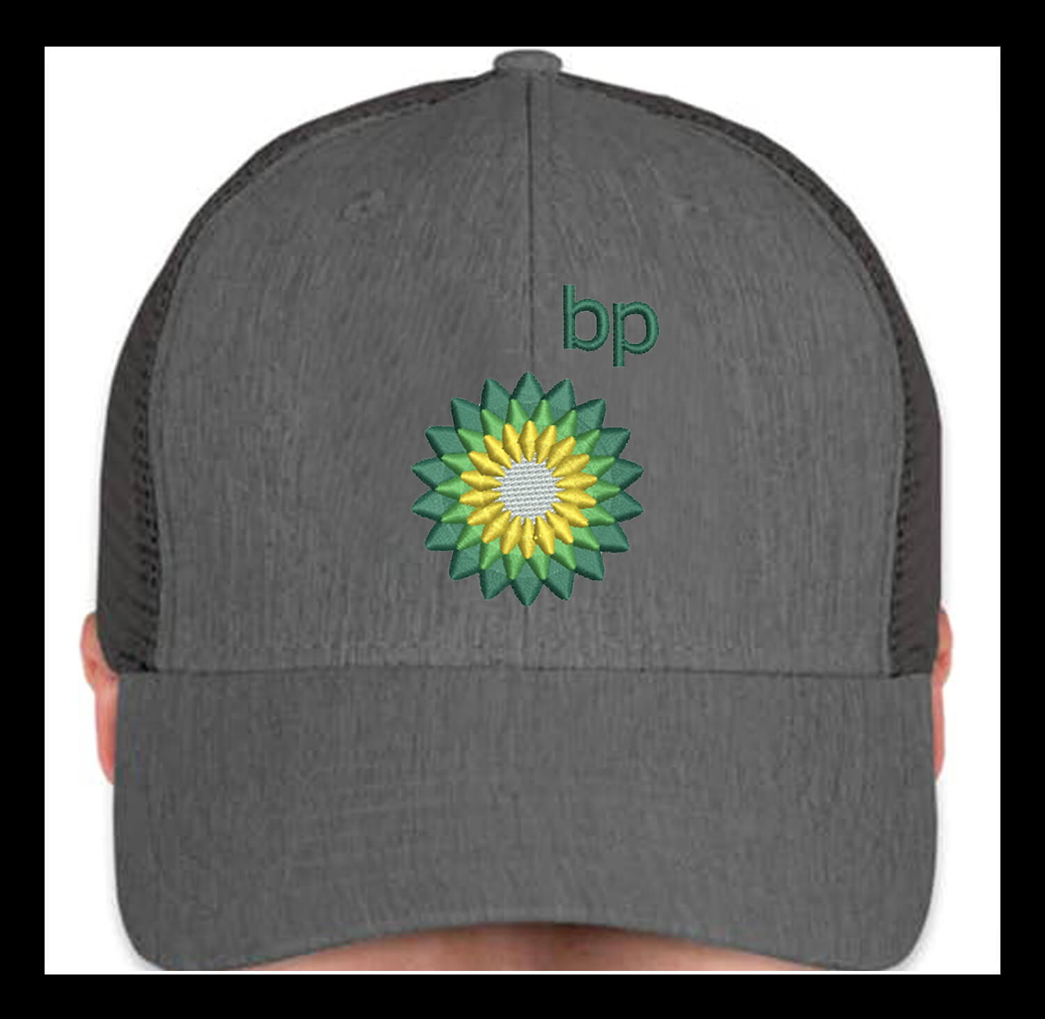 your brand on cap Digitized